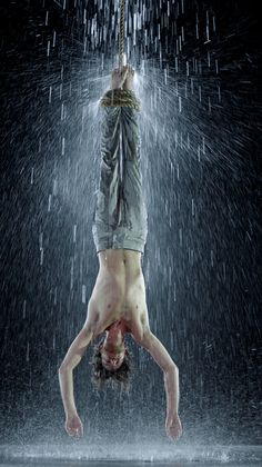 Bill Viola,  Martyrs (Earth, Air, Fire, Water)  on ArtStack #bill-viola #art