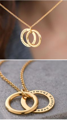 03d258bb97 One Necklace, Endless Love 💝✨ Personalized Secret Necklace in Silver or  Gold *Free