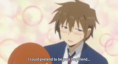 "Daily Lives Of High School Boys aka ""Danshi Koukousei no Nichijou"" Ohh my.... Hidenori. Come here so I can hug you and be your girlfriend. Hahaha!"