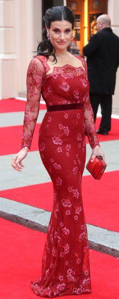 Idina Menzel at the 2013 Olivier Awards