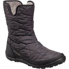 Columbia Women's Minx Slip II Omni-Heat in Clothing, Shoes & Accessories, Women's Shoes, Boots Slip On Boots, Pull On Boots, Rain Boots, Shoe Boots, Warm Winter Boots, Cold Weather Boots, Winter Shoes, Red Leather Boots, Faux Fur Boots
