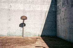 Court geometries. Mexico. Voigtlander Bessa R3A with 40mm f/1.4. 1/500 @ f8. Fujicolor 100. #visibleinlight