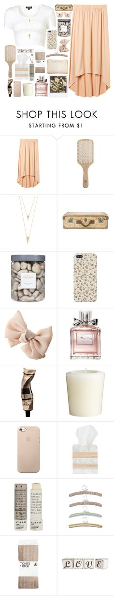"""Miss."" by korrashay ❤ liked on Polyvore featuring Uniqlo, Topshop, Philip Kingsley, Jules Smith, Jayson Home, Threshold, Christian Dior, Aesop, Pier 1 Imports and Pigeon & Poodle"