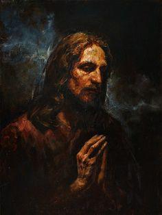 Anatoly Shumkin 2014 Christ in the Garden of Gethsemane