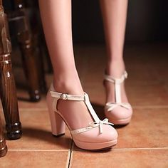 Women's Shoes Chunky Heel Round Toe Sandals Dress Shoes More Colors Available - EUR € 34.99