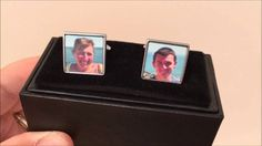 Check out these cool personalised cuff links.  They're available to buy at www.personalisewise.com