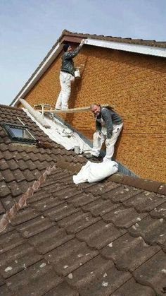 This likeable duo: 25 Photos Of Home Improvement About To Go Terribly, Terribly Wrong Funny Images, Funny Photos, Construction Humor, Safety Pictures, Safety Fail, Darwin Awards, Prix Nobel, You Had One Job, Workplace Safety
