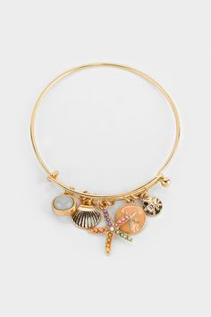Starfish Charm Bracelet in Sorbet | Women's Clothes, Casual Dresses, Fashion Earrings & Accessories | Emma Stine Limited