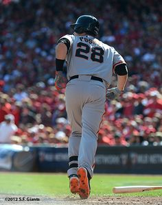 Buster Posey! Love baseball pants, particularly on that ass. #28