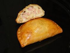 Chicken Pasties - These small shortcrust pastries, with a savoury filling, are deep fried until golden and crisp. They are excellent, hot or cold, for picnics and packed lunches.