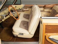 1955 Lincoln Capri Woodie Sportsman Convertible