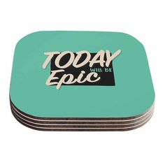 East Urban Home Epic Day by Juan Paolo Coaster