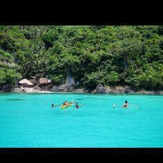 """Ticao island, Masbate, Philippines tauchen Whale-Watching Manta-Swimming """"Geheimtipp"""" -viele kleine Buchten mit weißen Stränden"""