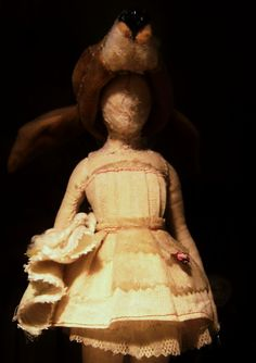 Valeria Dalmon Lunar Doll- Sculpture- Only for comission- Textil -whith animals heads