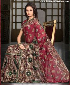 weddings in india | Indian Brides Prefer Sarees On Wedding