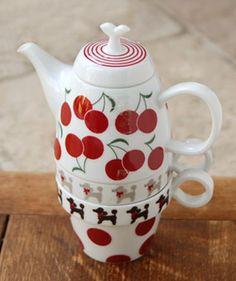 cherry teapot (shinzi katoh)