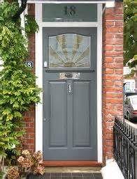 red brick house with grey door - Bing Images