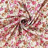Baumwollstoff Lovely English Roses - Landhausstil - im Online-Shop günstig kaufen