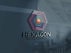 Hexagon Logo Templates BUNDLE Editable – 100 Re-sizable – 100 vectorsVertical & horizontal layou by Josuf Media Custom Logo Design, Custom Logos, Graphic Design, Hexagon Logo, Free Logo Templates, Creative Sketches, Paint Markers, Pencil Illustration, Modern Logo