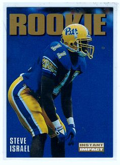 Sports Cards Football – 1992 Skybox Impact RC Steve Israel . . $0.60 plus shipping $0.50