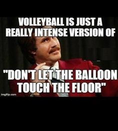 NO IT'S NOT IT IS WAYYYYYYYYY MORE INTENSE THAN DON'T LET THE BALLON TOUCH THE FLOOR.