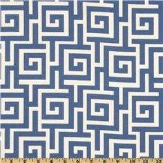 Swavelle/Mill Creek Indoor/Outdoor Oskar Sea  Item Number: UG-592 Our Price: $8.98 per Yard   Compare At: $12.99 per Yard