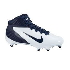size 40 e07ea 45fd6 Mens Nike Alpha Football Cleats White leather