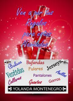 #Celanova #Cartelle #Padrenda #Ribadavia #Avión #Barbadas #Allariz #Maceda #XinzodeLimia #Verin #Bande #Luintra #Lobios #Maside #AMerca #Boborás #OCarballiño #Toen #Ourense #love #fashion #navidad  Ven a por tus #regalos de estas Navidades YOLANDA MONTENEGRO MODAS Plaza Mayor, 7 - Celanova