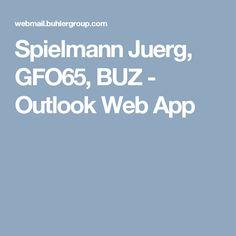 Spielmann Juerg, GFO65, BUZ - Outlook Web App