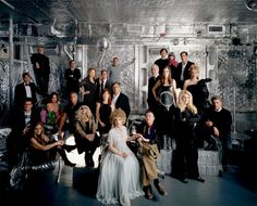 The Andy Warhol 2006 NYC Factory Reunion, ohotographed by Todd Eberle- WOW.