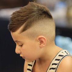 Comb Over + Shaved Sides