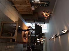 projekt te Ninove Track Lighting, Teak, Ceiling Lights, Home Decor, Ceiling Lamps, Interior Design, Home Interior Design, Ceiling Fixtures, Ceiling Lighting