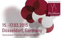 ProWein. International Trade Fair Wines and Spirits 15.03.2015 - 17.03.2015.  Visit us at Prowein from 15-17 March.    One of the most important wine fair. It is set to be a great fair again, so come visit us at  HALL 10, STAND B118 Besuchen Sie uns  Prowein Hall 10 / B118 http://www.losadavinosdefinca.com/index.php/es/comunicacion/actualidad/item/284-prowein-international-trade-fair-wines-and-spirits.html