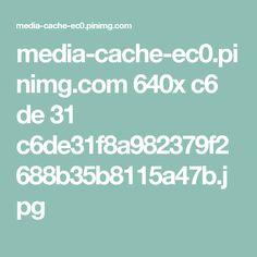 media-cache-ec0.pinimg.com 640x c6 de 31 c6de31f8a982379f2688b35b8115a47b.jpg