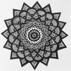 New zendala design #mandala #zenart #zendrawing #recaptivation