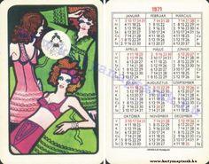 1971 - 1971_0215 - Régi magyar kártyanaptárak