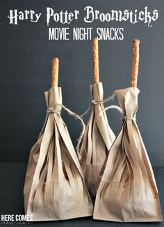 Create these easy Harry Potter themed movie night snacks! #MovieNight4Less #ad