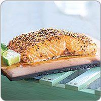 Cedar-Plank Salmon with Brown Sugar and Cracked Pepper  Wegmans