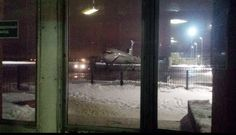 NTV audio operator Yevgeniy Tolstoy shared this photo from the airport before the flight. #Tu154