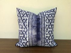 Vintage Textile Tribal Design Hmong Indigo by orientaltribe11, $55.00