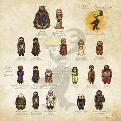 House Baratheon - A.G.O.T. by GlassSiva.deviantart.com