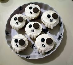 Scary cupcakes.