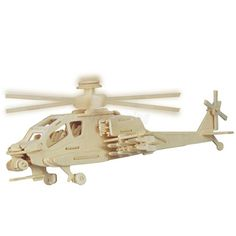 DIY 3D Jigsaw Woodcraft Kits Apache Helicopter Model Wooden Puzzle Kids Gift | Toys & Hobbies, Puzzles, Contemporary Puzzles | eBay!