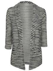 Textured Stripe Blazer