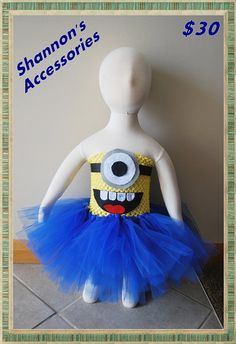Hey, I found this really awesome Etsy listing at https://www.etsy.com/listing/206376913/halloween-costume-minion-one-eyed-little