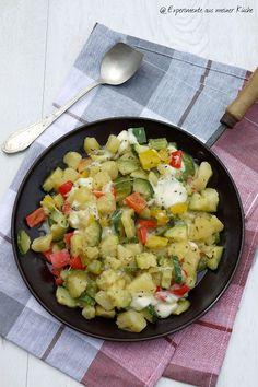 Experimente aus meiner Küche: Mediterrane Kartoffelpfanne