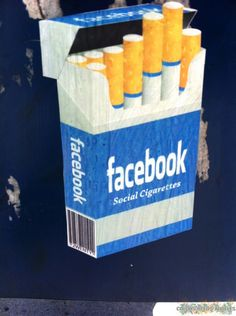 facebook the social cigarette, los angeles