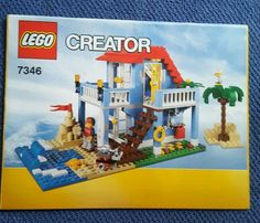 Lego 7346 #creator seaside #house one #instructions book only ,  View more on the LINK: http://www.zeppy.io/product/gb/2/381845820631/