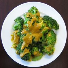 Broccoli with Red Lentil Sauce