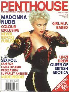Penthouse Magazine U.S Vol 22 Madonna 1987 Playmate Gallery, Divas, Pin Up, Penthouses Magazine, Madonna Photos, Vintage Black Glamour, John David, Crime, Male Magazine